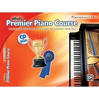 Alfred's Premier Piano Course, Performance BK/CD