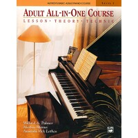 Alfred's Basic Adult All-in-One Course BK/CD