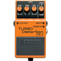 Boss DS2 Turbo Distortion Effects Pedal