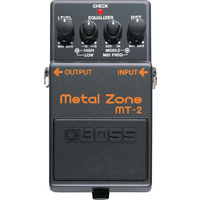 Boss MT2 Metal Zone Effects Pedal