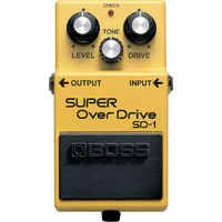 Boss SD1 Super Overdrive Pedal