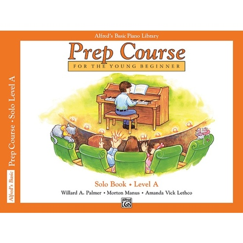 Alfred's Basic Piano Prep Course: Solo Book [Level: A]