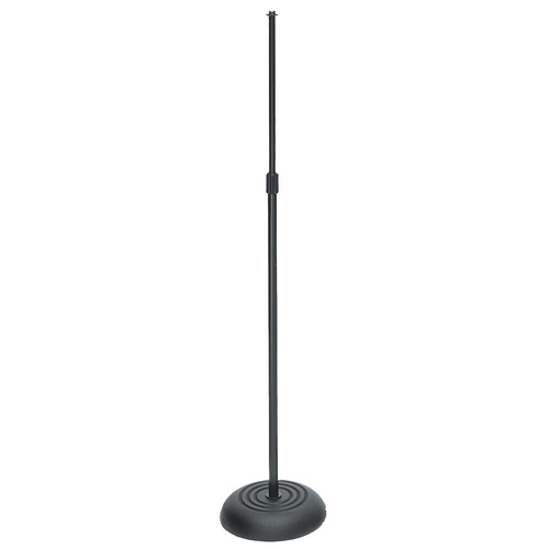 On Stage Straight Mic Stand with Round Base