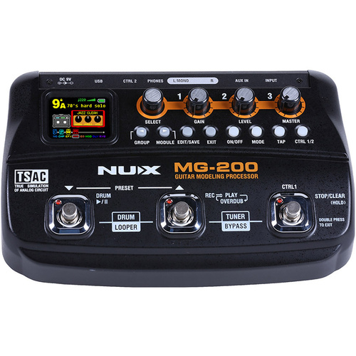 NU-X MG-200 Guitar Modeling Processor